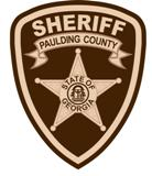 Sheriff Paulding County Badge