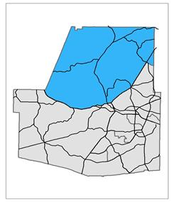 Commissioner Post 4 Map