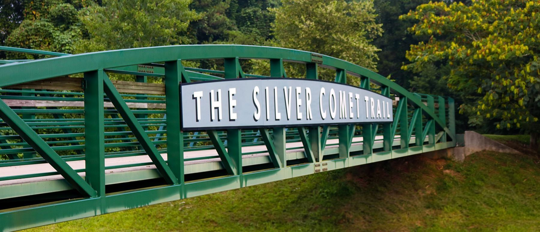 Silver Comet Trail bridge at Tara Drummond Memorial Trailhead