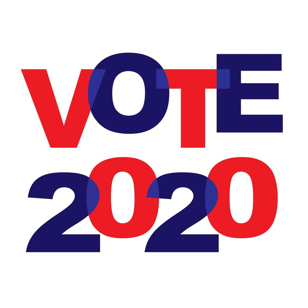 vote-2020-blue-red-overlapping-typography-vector